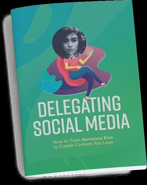 Delegating Social Media Guide Cover