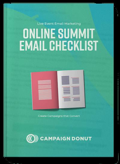 Mockup — Online Summit Email Checklist