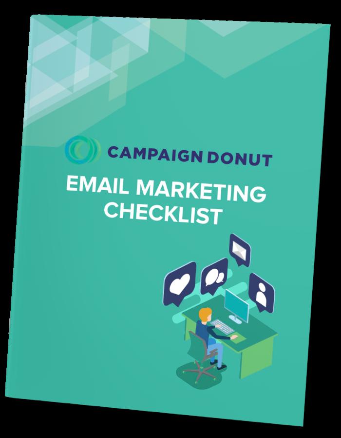 Campaign Donut, Email Marketing Checklist Mockup
